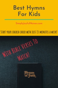 Hymns for Children's Choirs -